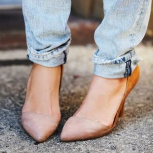 Jeffery Campbell x Free People Meridian Nude Heels